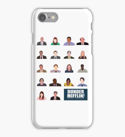 Dunder Mifflin Rolecall! iPhone Case/Skin