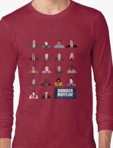 Dunder Mifflin Rolecall! Long Sleeve T-Shirt