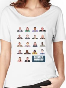 Dunder Mifflin Rolecall! Women's Relaxed Fit T-Shirt