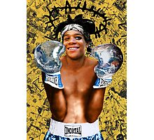 """Samoking"", Basquiat takes on the world Photographic Print"