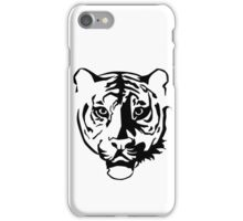 Black tiger iPhone Case/Skin