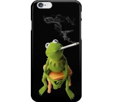 Kermit Joint black iPhone Case/Skin