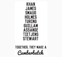 Together, They Make A Cumberbatch Kids Clothes