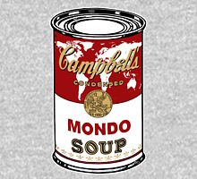 """Mondo Red"" Warhol inspired Campbell's soup.  Hoodie"