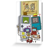 Happy Handheld family Greeting Card