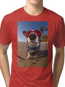 Love Goggles Tri-blend T-Shirt