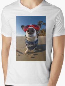 Love Goggles Mens V-Neck T-Shirt