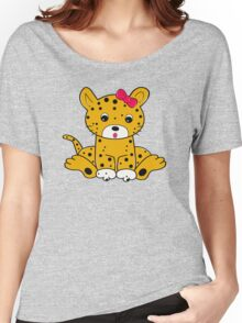 Baby Leopard Women's Relaxed Fit T-Shirt
