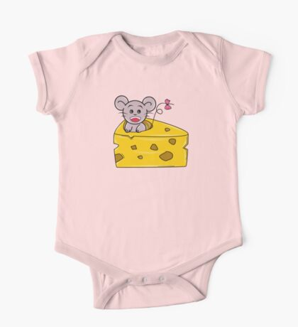 I Love Your Cheese One Piece - Short Sleeve