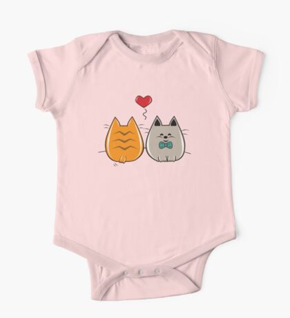 Kitty In Love One Piece - Short Sleeve