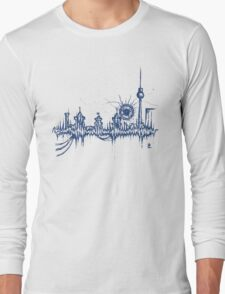 Berlin vibe (blue) Long Sleeve T-Shirt