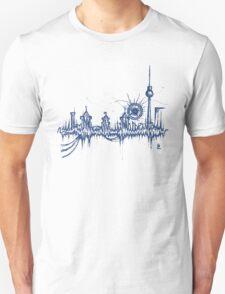 Berlin vibe (blue) Unisex T-Shirt