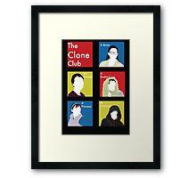 The Clone Club Framed Print