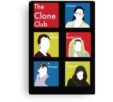 The Clone Club Canvas Print