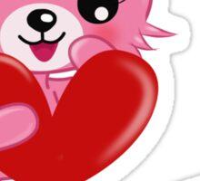 Bunny Love Sticker
