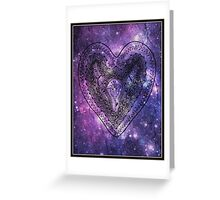 The Heart Of Planet Flora - Card Greeting Card