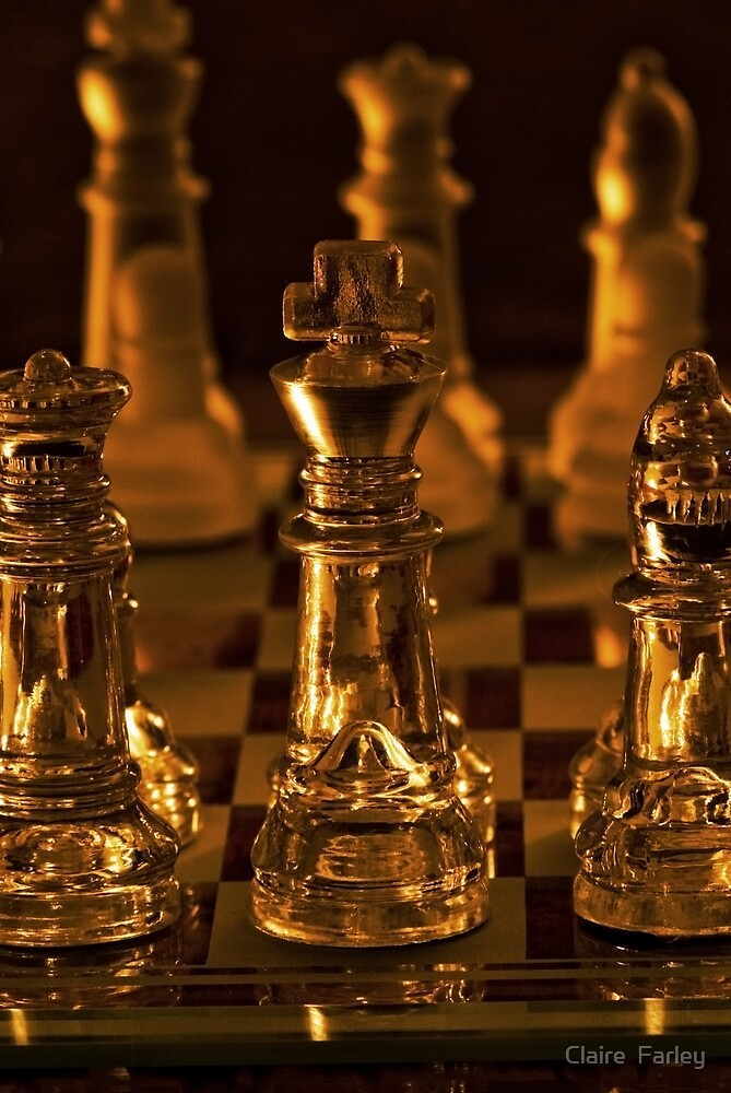 Chess by Claire  Farley