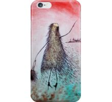 Julia travelling the world iPhone Case/Skin