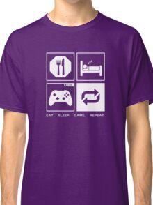 Eat. Sleep. Game. Repeat. Classic T-Shirt