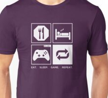 Eat. Sleep. Game. Repeat. Unisex T-Shirt