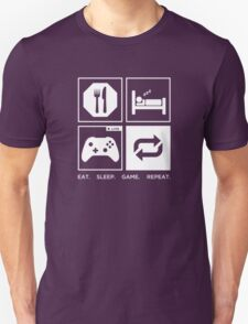 Eat. Sleep. Game. Repeat. T-Shirt