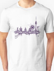 Berlin vibe (purple) Unisex T-Shirt