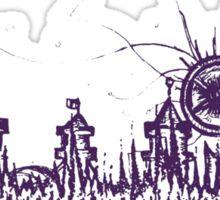 Berlin vibe (purple) Sticker