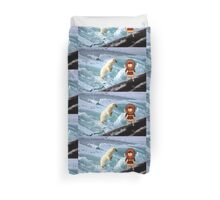 I'd like a Hat Like That Eskimo Toon Boy No 19 - all products Duvet Cover