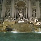 Trevi at Night by Robert Brown