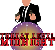 Threat Level Midnight by getonthisgfx