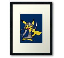 MCC Crusader Pikachu Framed Print
