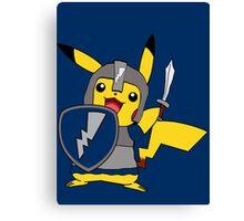 MCC Crusader Pikachu Canvas Print