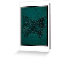 The Butterfly Of Planet Flora - Card Greeting Card