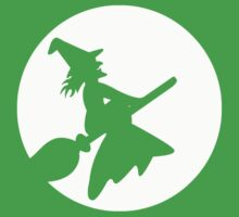 Witch To The Moon Kids Clothes