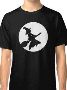 Witch To The Moon Classic T-Shirt