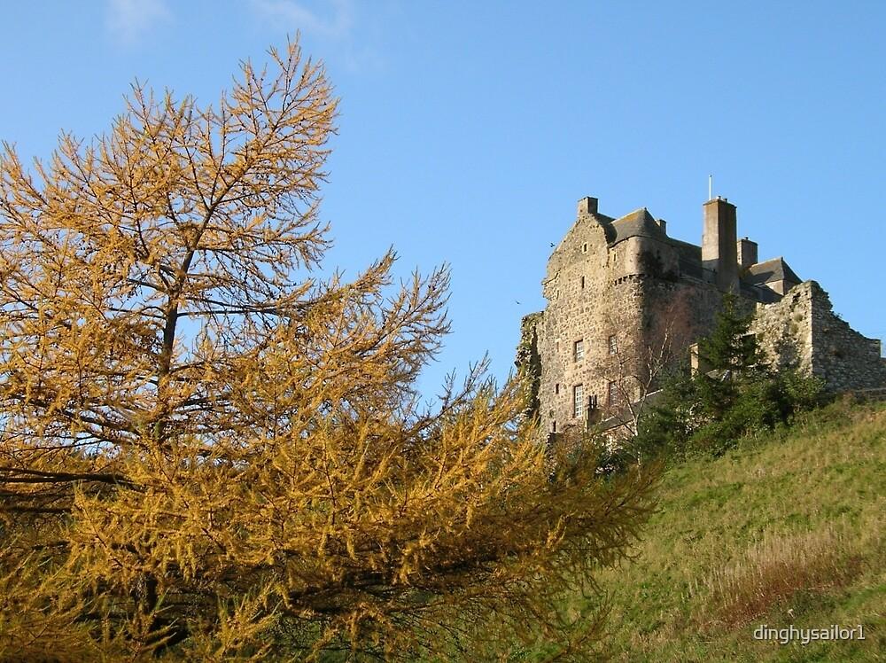 neidpath castle by dinghysailor1