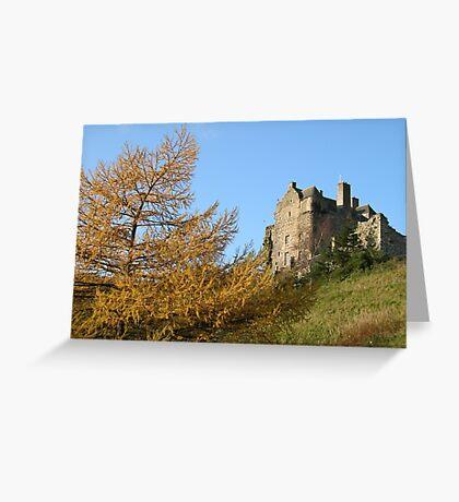 neidpath castle Greeting Card