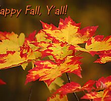 Happy Fall Y'all by Patricia Montgomery