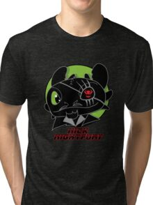 Nick Night Fury Tri-blend T-Shirt
