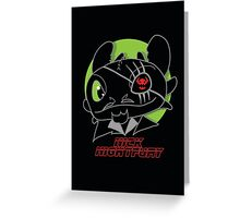 Nick Night Fury Greeting Card