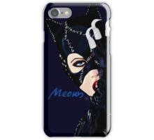 Catwoman Returns  iPhone Case/Skin