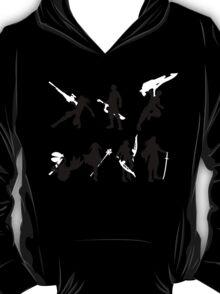 Xenoblade party silhouette (ver. 2) T-Shirt