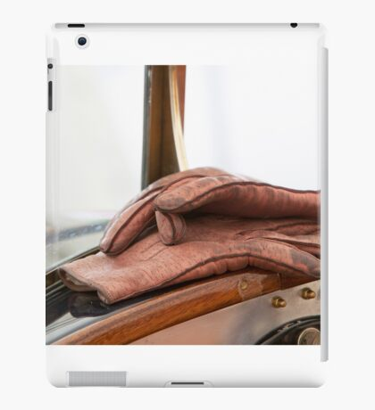 Driver's Gloves iPad Case/Skin
