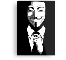 Anonymous (group) - Collar and Tie Metal Print