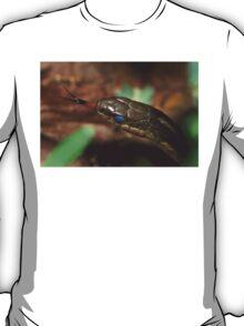 Garter Snake Portrait T-Shirt