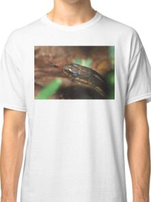 Garter Snake Portrait Classic T-Shirt