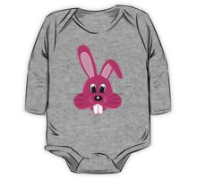 Pink Bunny One Piece - Long Sleeve