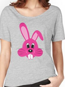Pink Bunny Women's Relaxed Fit T-Shirt