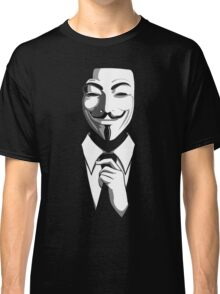 Anonymous (group) - Collar and Tie Classic T-Shirt