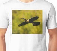 Anhinga in Flight Unisex T-Shirt